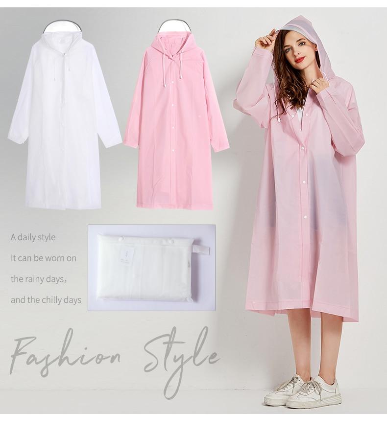 Poncho de moda para mujer, Impermeable para viajes al aire libre, Poncho de lluvia Universal, Impermeable, cubre capa de lluvia con capucha JJ