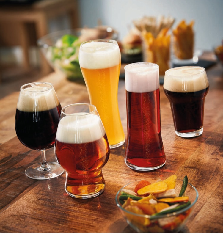 Glass Beer Steins Unbreakable Large Capacity Wheat Beer Tumbler Pilsner Toughened Glass Swill Beer-mug 210609-25