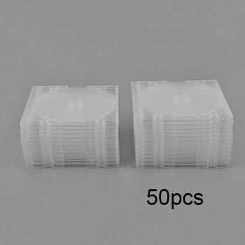 25pcs/50pcs/100pcs CD DVD Double Sided Cover Storage Case Plastic Bag Sleeve Envelope Provide Storage & Protection
