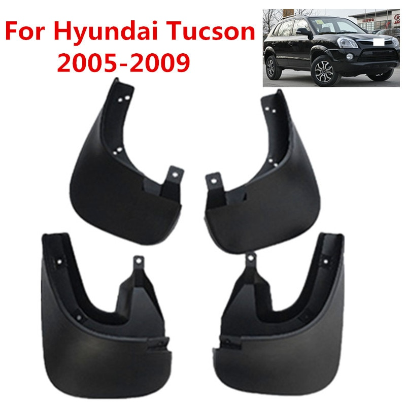 Guardabarros de coche guardabarros para Hyundai Tucson 2005 2006 2007 2008 2009 accesorios de estilo de coche