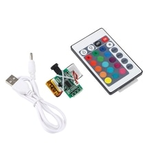 16 Colors LED Moon Lamp Board Remote Control Light Source Night 3D Printer Parts H9EB