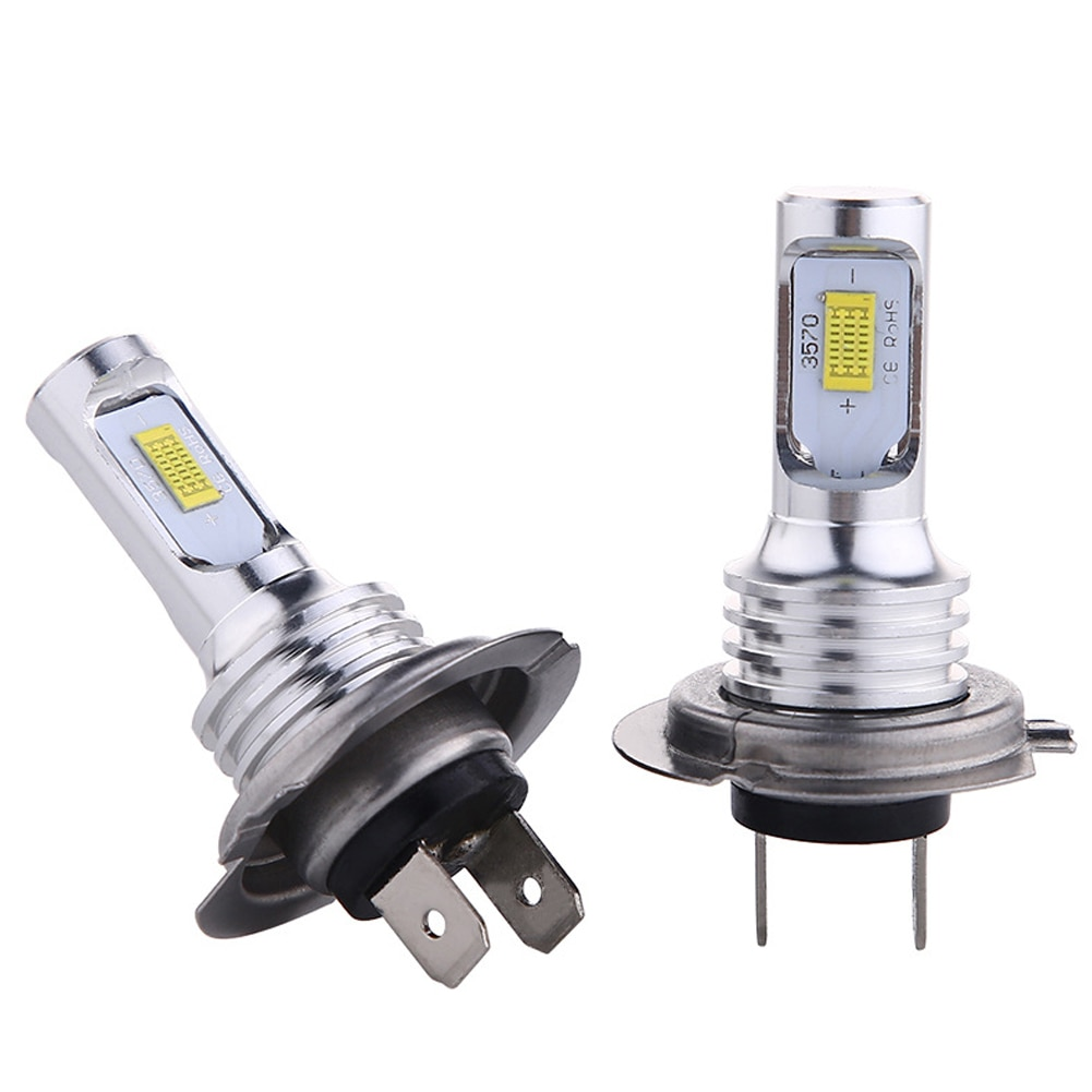 H7 LED Lamps For Cars Headlight Bulbs White Light Highlight Motorcycle Light Car Fog Lamp 12V-24V DC