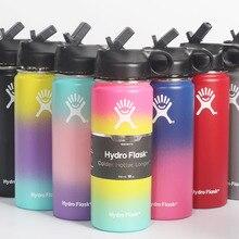 Hydroflask Bottle120z 18oz 32oz Hydro Flasks Bottle Hidroflask Garrafa Termos Termica Kubek Thermo T