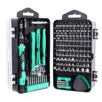 Набор отверток 138 в 1, набор ручных инструментов для ремонта телефонов и ноутбуков, многофункциональная отвертка, набор прецизионных магнит...