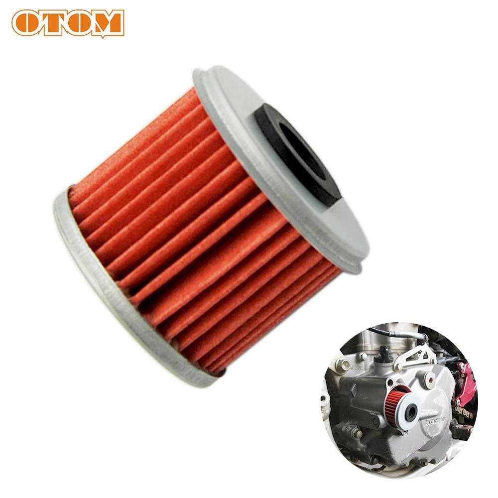 OTOM Engine Oil Filter Cleaner Motorcycle For HONDA CRF 150R 250R 250X 450R 450X Dirt Bike Fuel Filter Cleaner
