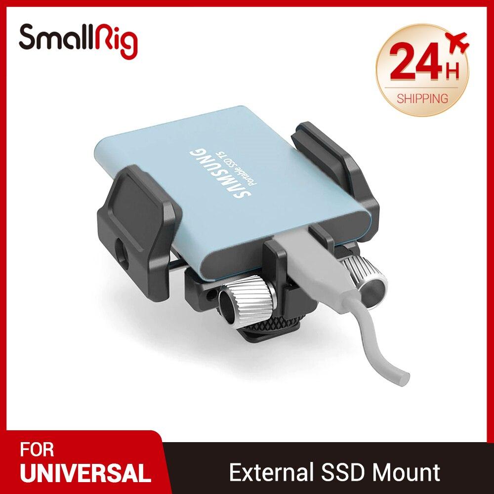 كاميرا صغيرة DSLR بمشبك حامل عالمي متوافق مع SSD الخارجية لسامسونج T5 SSD لـ Angelbird SSD2go PKT قابلة للتعديل 2343