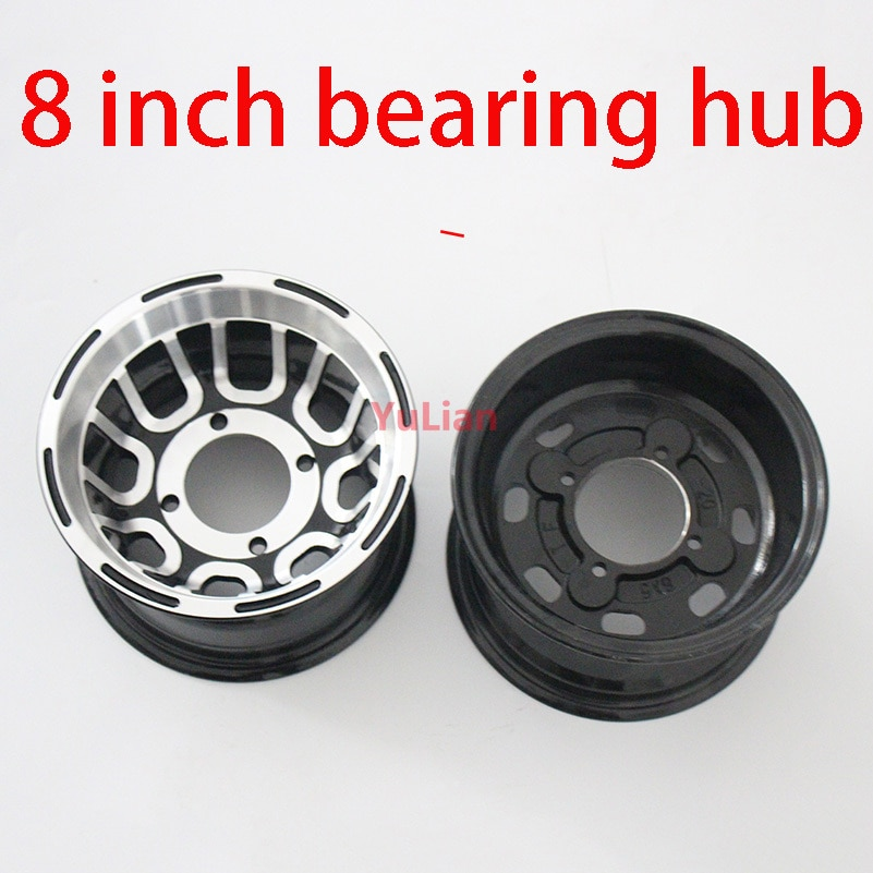 Using 19x7.00-8 tire 20x7-8 21x7-8 vacuum tire go kart four wheel motorcycle size 8 inch bearing wheel hub ATV aluminum rim