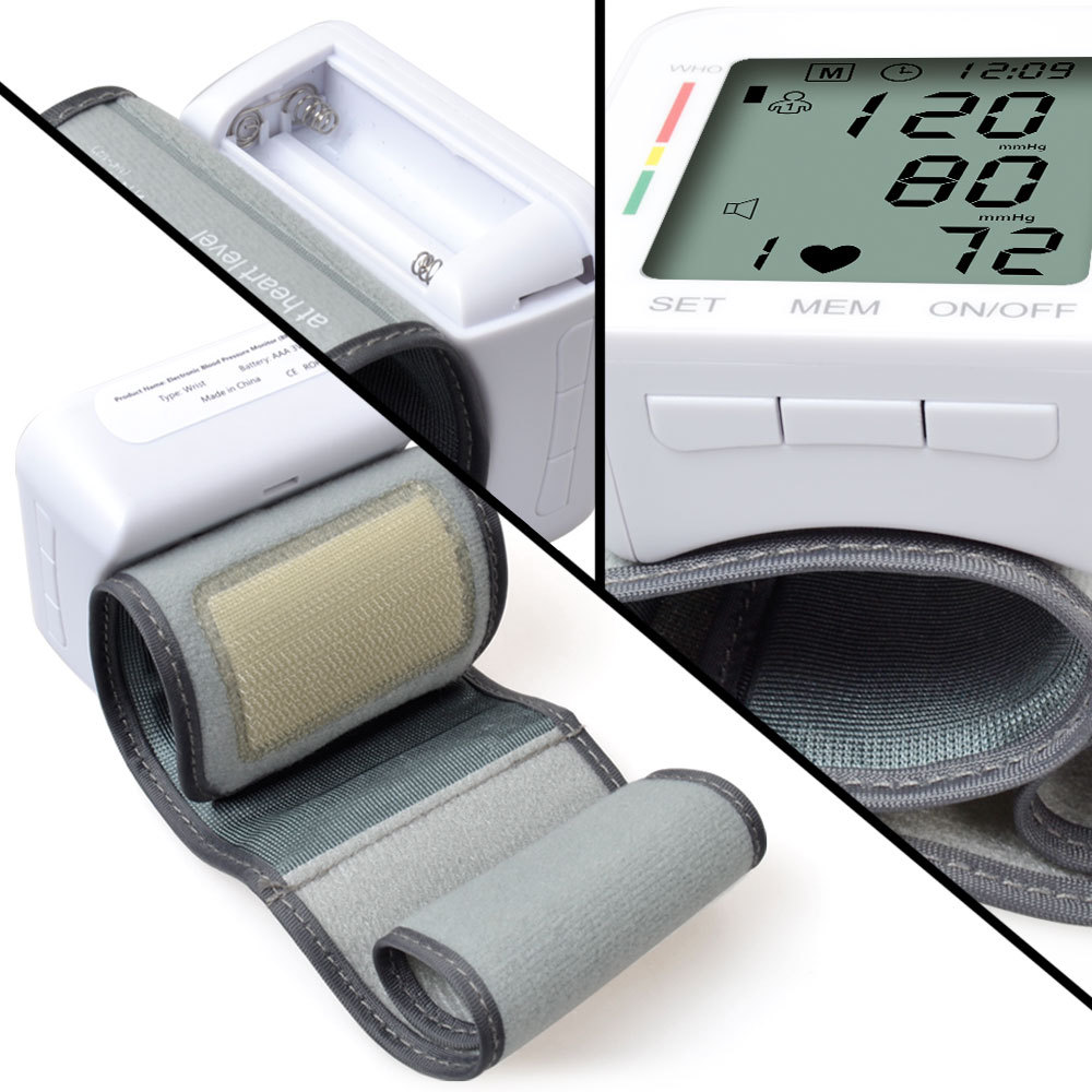 Electronic Blood Pressure Monitor With voice function household Cuff HD Digital Display Health Care sphygmomanometer machine