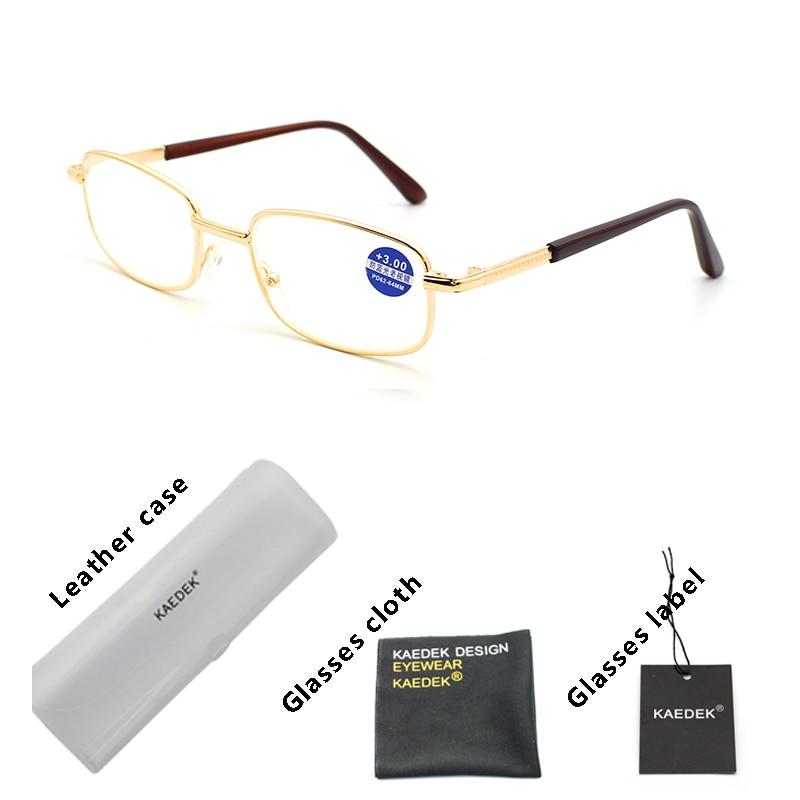 Kaedek anti luz azul óculos de leitura ultraleve lentes claras presbiopia computador eyewear unisex óculos