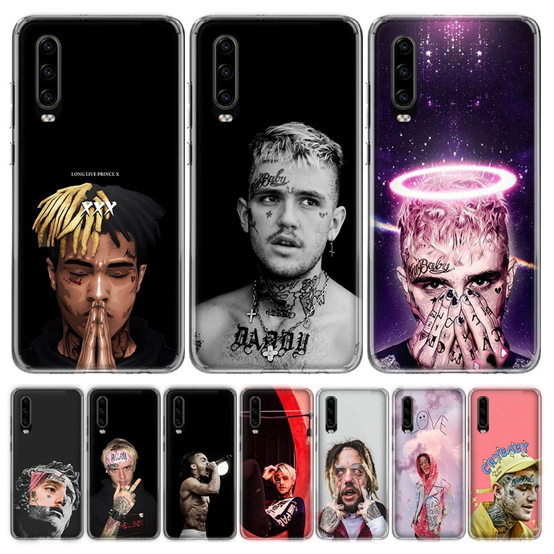 Xxxtentacion Lil Peep Lil Bo Peep funda del teléfono para Huawei Honor 9 10 20 Lite Pro V20 V30 7C 8C 7A 8A 7X 8X 9X Y5 Y6 Y7 Y9 2018, 201
