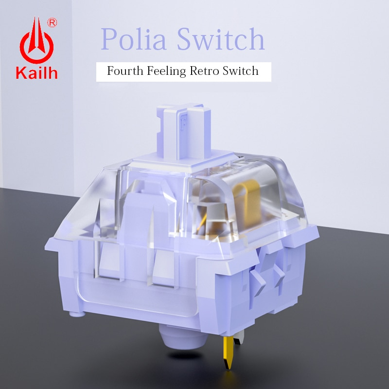 AliExpress - 10pcs Kailh Polia switch  Game Machine Keyboard diy switch RGB/SMD MX Switches advance Tactile handfeeling 3ins/5pins
