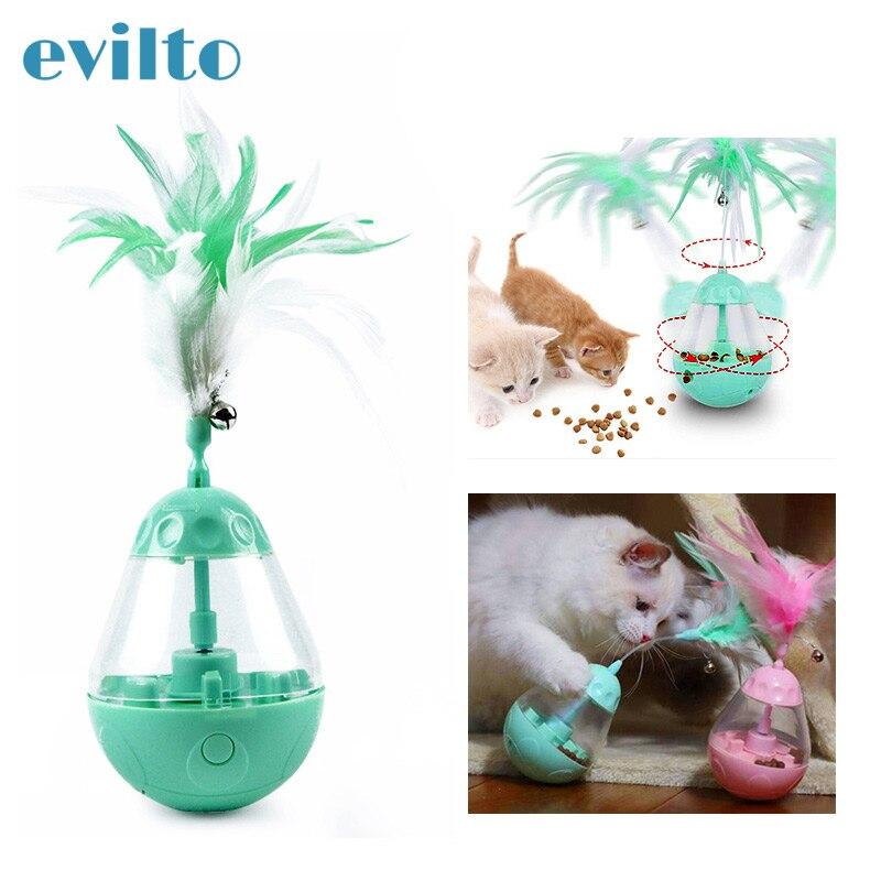 Brinquedo para animais de estimação, brinquedo interativo com petiscos para cães e gatos, cachorros, gatos, brinquedo para animais de estimação comedero