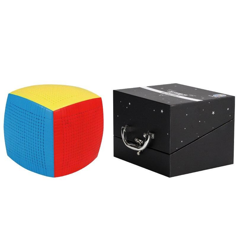 أحدث أفضل SHENGSHOU 13x13x13 المكعب السحري سرعة لغز الخدع السحرية 13 طبقات 128 مللي متر Stickerless مكعب ألعاب تعليمية للكبار