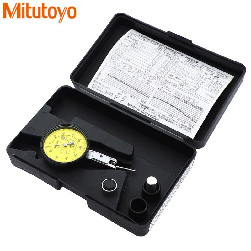 100% Japón Mitutoyo 513-425E Indicador de Dial 0-0,6mm/0.002mm micrómetro Dial prueba herramientas de medición