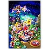 ARMYQZ     peinture de dessin anime Super Mario 5D  broderie complete en diamant rond ou carre  strass  mosaique  artisanat  decoration de maison  bricolage pour enfants