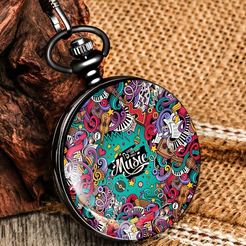 2020 ретро карманные часы, антикварные карманные часы, механические карманные часы, подвеска, серия граффити, детский подарок, карманные часы,...