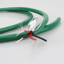 Hohe Qualität 2328 Reinem Kupfer silber gemischt HiFi Audio kabel RCA interconnect groß kabel DIY RCA Balance Audio