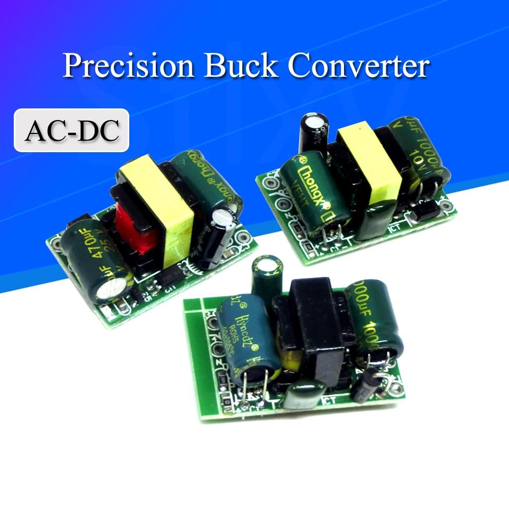 Convertidor Buck de precisión de 5V, 700mA, 3,5 W, CA de 220v a 5v CC, módulo de fuente de alimentación de transformador reductor, 12V, 400MA, 3,3 V, 700MA, AC-DC