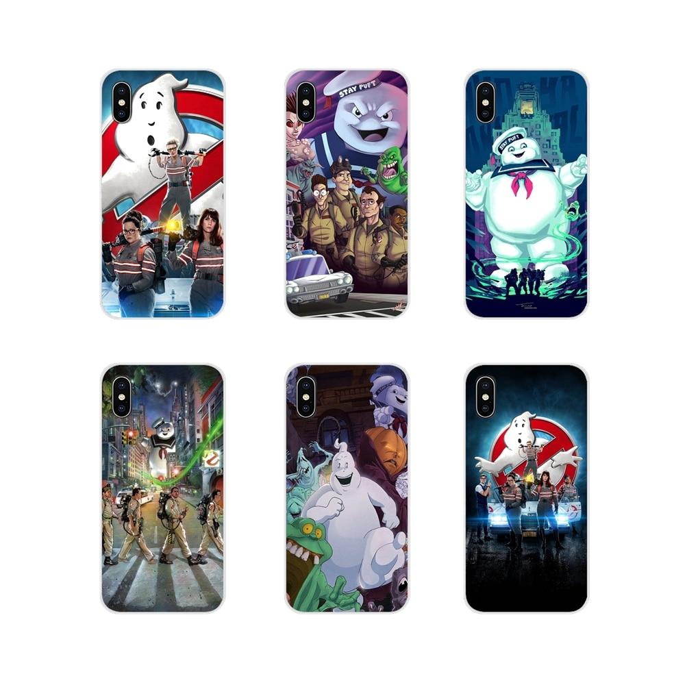 Para Xiaomi Mi4 Mi5 Mi5S Mi6 Mi A1 A2 A3 5X 6X 8 CC 9 T Lite SE Pro ghost busters ghostbusters Famose película TPU transparente cubre