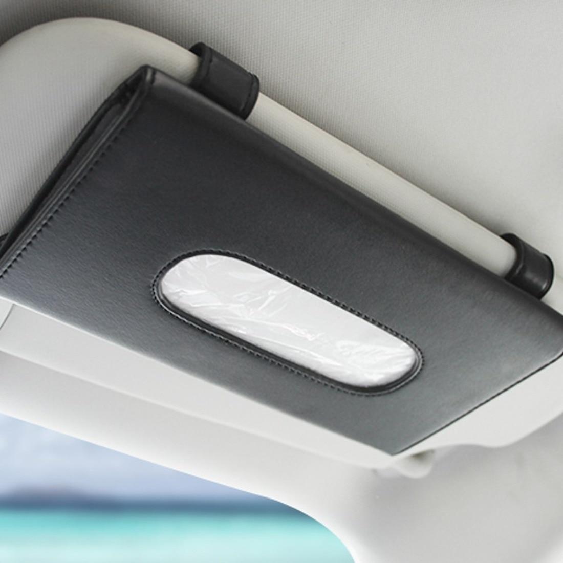 1 шт., автомобильный контейнер для салфеток, набор полотенец, автомобильный держатель для салфеток на солнцезащитный козырек, украшение для ...