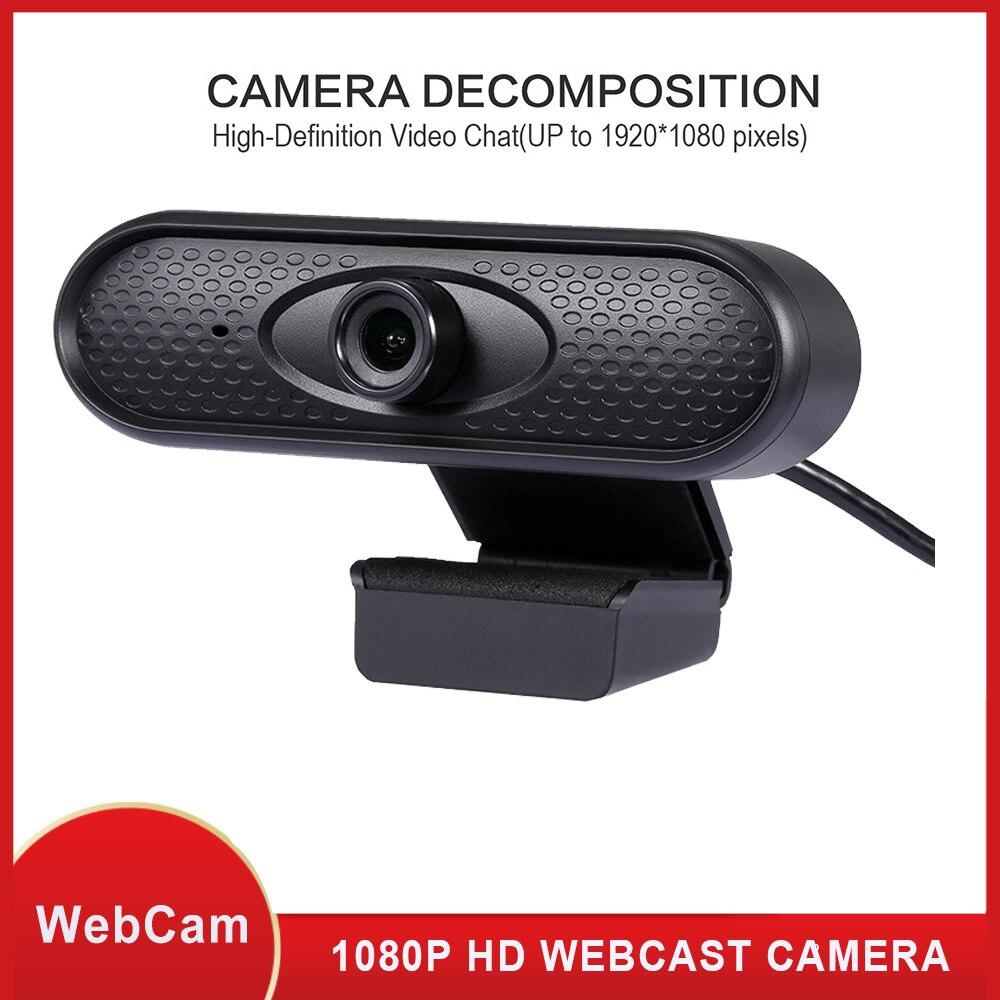 1080 720p の hd ウェブカメラ、 usb デスクトップノートパソコンのカメラ、ミニプラグアンドプレイビデオ通話コンピュータカメラ、内蔵マイク