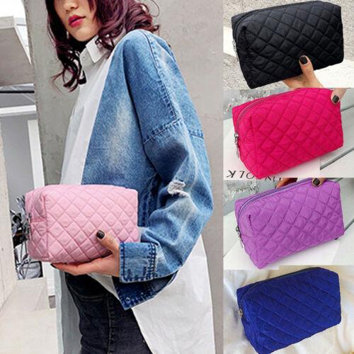 Nova moda feminina senhoras multifuncional bolsa de maquiagem cosméticos saco caso de higiene pessoal bolsa de viagem portátil