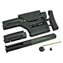 PTS PRS UBR 카빈총 알루미늄 합금 엉덩이 있음 M4/M16 시리즈 AEG CTR ACS 소총