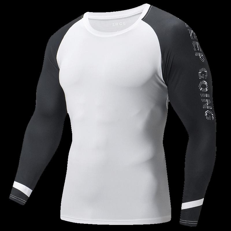 ZRCE Einfache Raglan Hülse Männlichen Klar T Shirt Mann Fashion Marke Custom T-shirt Gym Jogger Schnell Trocknend Trainingsanzug Männer fit t-shirt