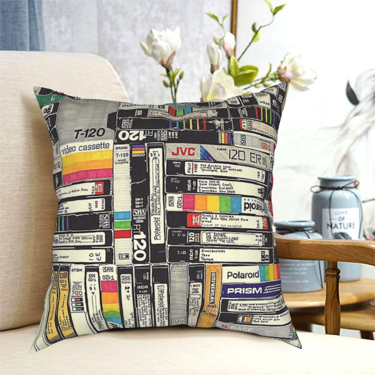 Смотрите фильмы Подушка декоративная подушка чехол s Чехол дома диванные подушки 40x40,45x45 см (двойными бортами) фильмы