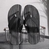 2020 summer korean version of the tide slippers mens non slip feet large size flip flops slippers slippers toe beach shoes