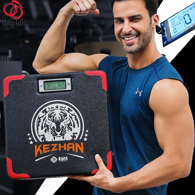 Portable Boxing Punching Pad Training Sandbags Boxing Sensor Digital Strength Measurement Meter Wall Boxing Strike Bag Focus