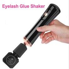 Eléctrico pegamento de pestañas de Shaker Lash pegamento Shaker para esmalte de uñas de tinta del tatuaje del pigmento líquido temblando despierta belleza pestañas Shaker