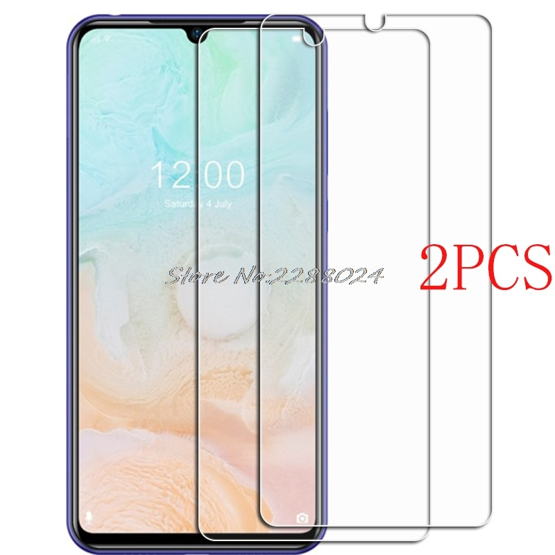 2PCS FOR Doogee N20 Pro Tempered Glass Protective N20Pro Y9 PLUS 6.3