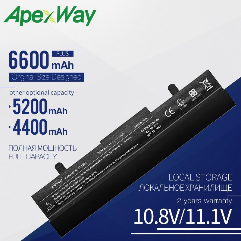 11,1 V Laptop Batterie AL32-1005 ML32-1005 Für Asus Eee PC 1005 1005H 1005HA 1005HE 1005HR 1005P 1005PX 1101HA 1001HA 1001P 1001PQ