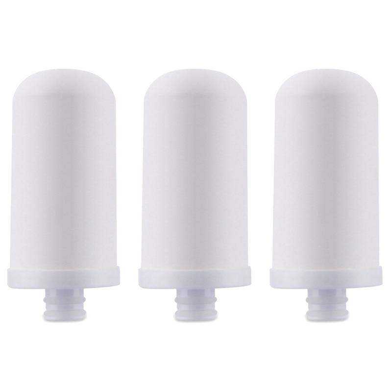3 шт./компл. очиститель воды для крана, фильтрующие элементы, фильтр для воды, питчер для зерен, свинец, микропластик для дома