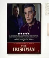 Film classique The Irishman 2  autocollant mural en soie  a la mode  beau decor artistique pour la maison  cadeau decoratif  NP062