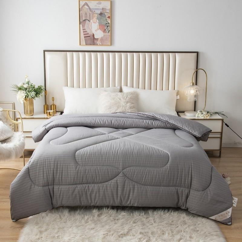 شراشف من ألياف فول الصويا سميكة للشتاء والخريف مفارش سرير مفارش عنبر دافئ من فول الصويا أغطية سرير مبطنة