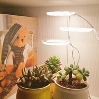 5V светодиодный USB Ангел кольцо завода светать светильник для суккулентные полный спектр Фито лампа Sunlike комнатное растение цветок теплица р...