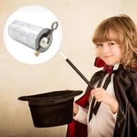 portable magic wand staff martial arts metal magic pocket bo staff outdoor sport equipment metal appearing canes
