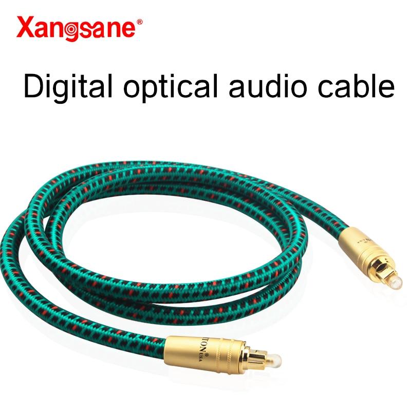 AliExpress - 1M/1.5M/2M A high-fidelity audiophile grade HiFi digital digital optical fiber cable CD/DTV power amplifier audio cable