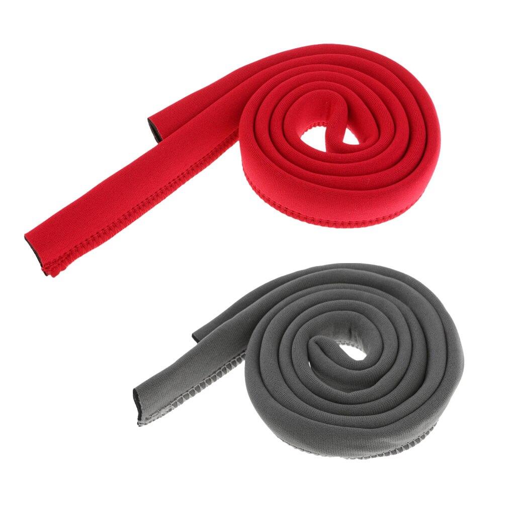 2 pièces 120 cm/47 néoprène isolé manchon de couverture de tuyau pour protéger 12mm sac dhydratation sac de vessie boisson Tube tuyau