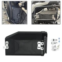 motorcycles plastic toolbox 5 liters left side tool box case decorative for benelli trk502 2016 2020 for bmw r1250gs r1200gs adv