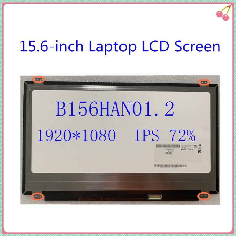 15.6-inch b156han01.2 NV156FHM-N43 lp156wf6 spb1 spa1 portátil tela lcd ips lcd matriz painel edp 30 pinos 1920x1080 frete grátis
