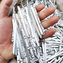 100/200 Pcs Silver Aluminum Metal Bridge Wire With Adhesive Back DIY Making In Stock Silver Aluminum Metal Bridge Dropshipping