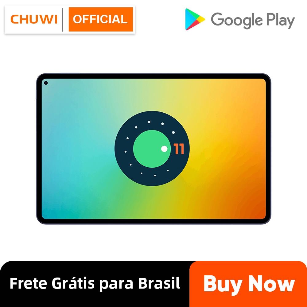 Get CHUWI HiPad Pro 10.8 inch Fullview Display Qualcomm Snapdragon Octa Core 8GB RAM 128GB UFS ROM Android 11 Phone Call Tablet
