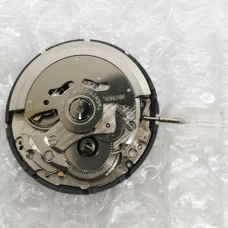 Automatic Mechanical Watch Wrist Movement Day Date Set Mechanical Watch Movement NH36 enlarge