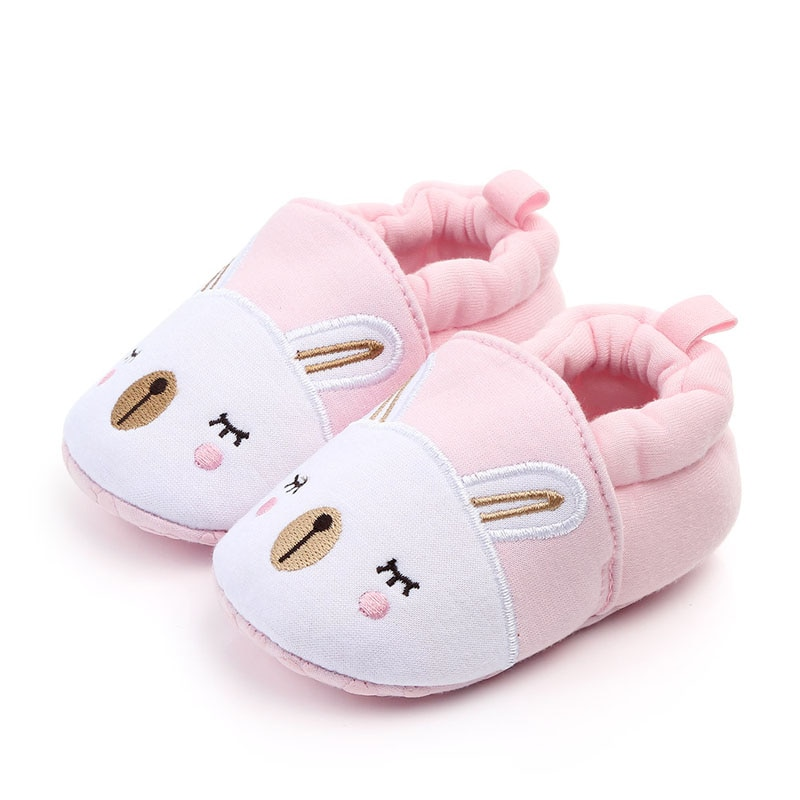 New Baby Shoes Infant Toddler Soft Sole Shoes Kids Girls Boys Prewalker Anti-slip Warm Baby Shoes Cute First Walkers