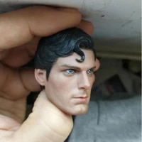in stock 16 scale male head carved model christopher reeve sculpt action figure head model fit 12 action figure