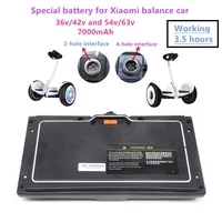 2021original scooter 36v 54v battery pack forxiao mi battery of no 9 balance car 36v 7000mah lithium battery working 3 5 hours