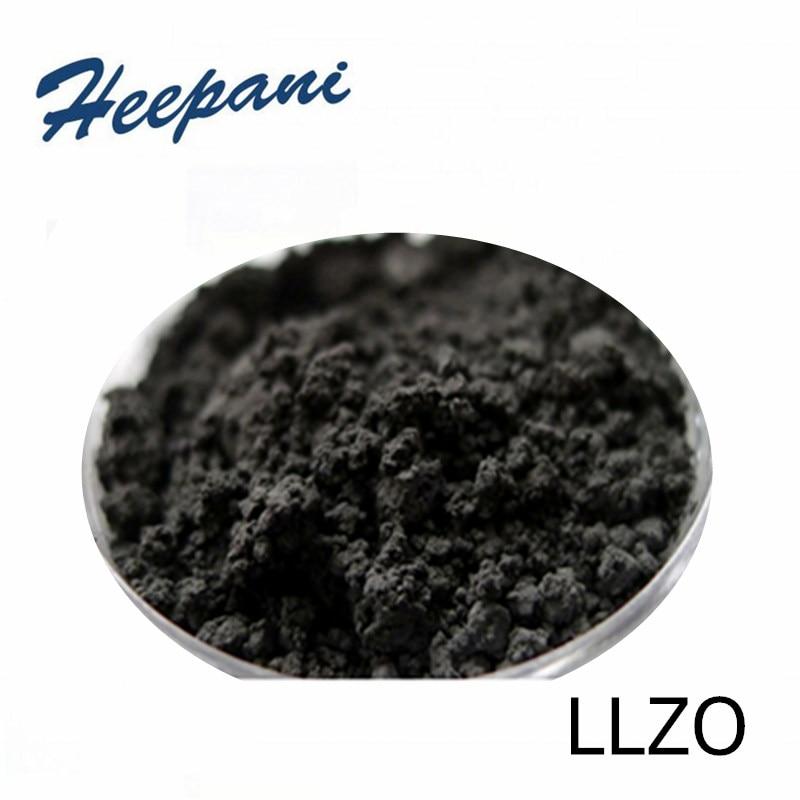 100 г 99.9% чистота 300 сетка кубический LLZO, Li7La3Zr2O12 кубический гранат фаза проводимости оксид Твердые электролиты